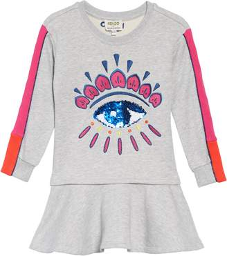 Kenzo Eye Fleece Dress