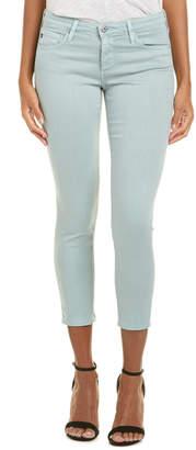 AG Jeans The Stilt Sulfur Pale Blue Cigarette Crop