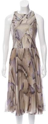 Ralph Lauren Sleeveless Pleated Dress w/ Tags