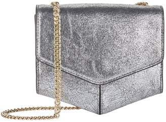 Sandro Small Leather Lou Cross Body Bag