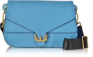 Coccinelle Pebbled Leather Ambrine Shoulder Bag