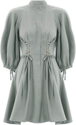 Zimmermann Tempest Laced Mini Dress