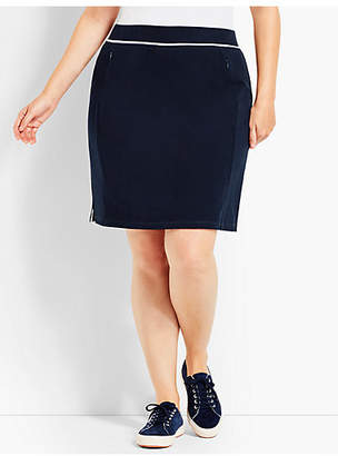 Talbots Everyday Skort - Contrast Detail