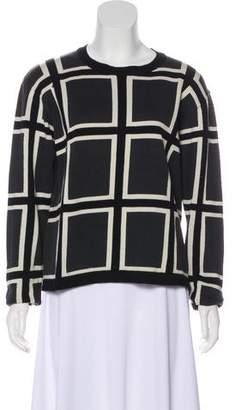 Issey Miyake Printed Cotton Sweater