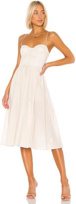 L'Academie The Sonia Midi Dress