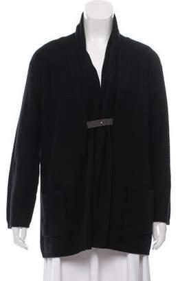 Fabiana Filippi Textured Shawl Collar Cardigan