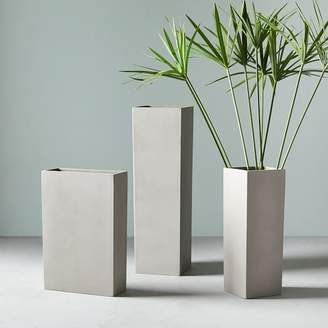 west elm Terra Sandstone Planters - Tall
