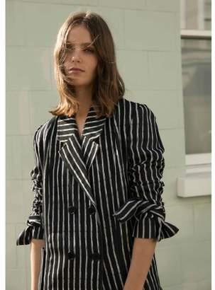 Kelly Love GENTLE SONG Striped Coat