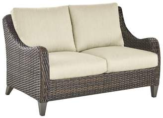 Pottery Barn Abrego All-Weather Wicker Loveseat