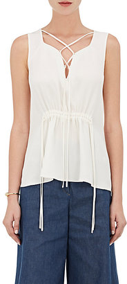 Derek Lam Women's Sleeveless Silk Blouse $750 thestylecure.com