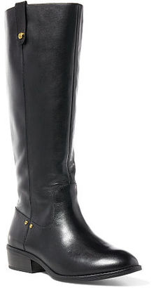 Ralph Lauren Maskin Burnished Leather Boot $159 thestylecure.com