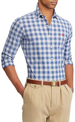 Polo Ralph Lauren Poplin Button-Down Printed Shirt