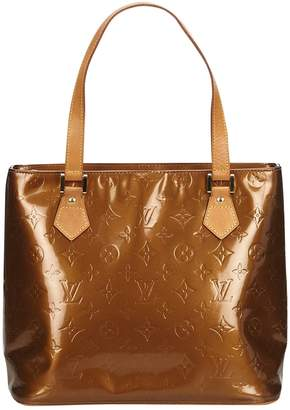 Louis Vuitton Houston patent leather tote