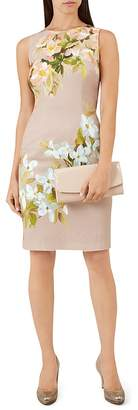 Hobbs London Francine Floral Print Sheath Dress