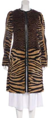 Joseph Fur Long Coat