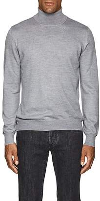 Barneys New York Men's Mélange Wool Turtleneck Sweater
