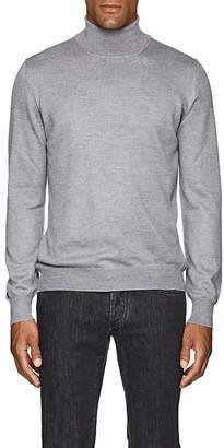 Barneys New York Men's Mélange Wool Turtleneck Sweater