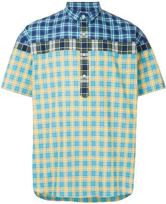 Kolor shortsleeved checked shirt