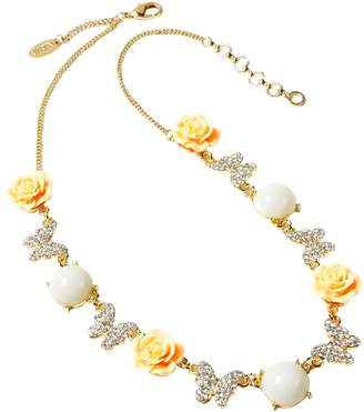 Amrita Singh Women's Butterfly Rose Station Necklace