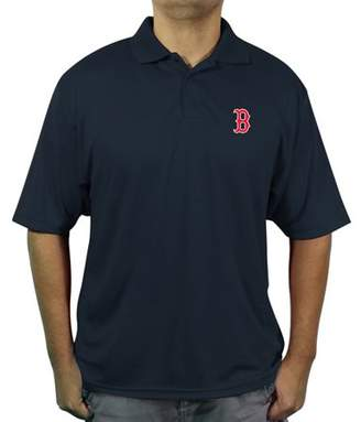 MLB Boston Redsox Big Men's poly polo shirt
