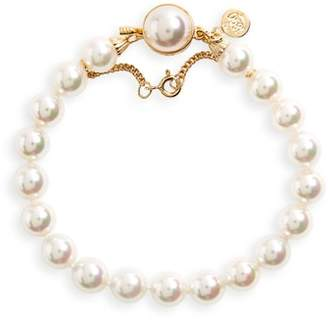Majorica 8mm Single Row Pearl Bracelet