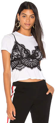 KENDALL + KYLIE Lace Cami Tee