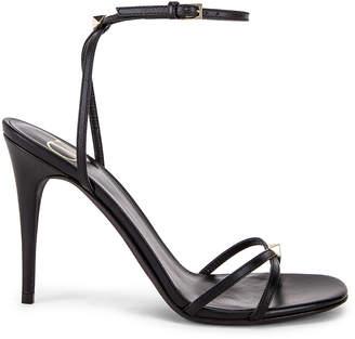 Valentino Strappy Heel in Nero | FWRD