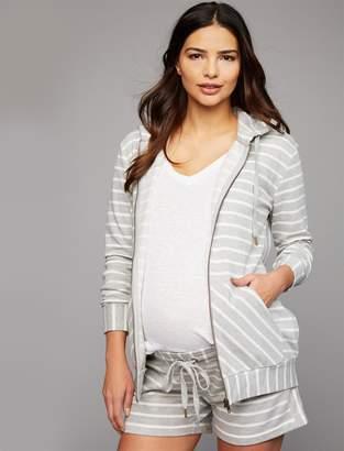 A Pea in the Pod Kangaroo Pocket Maternity Sweatshirt