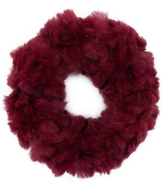Yves Salomon sheared collar snood