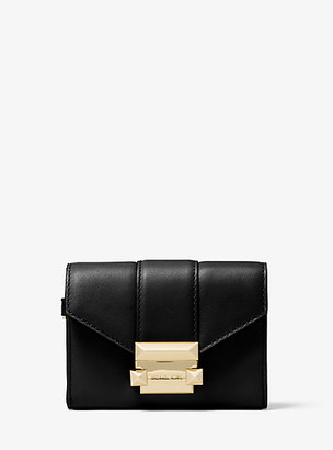 Michael Kors Whitney Small Leather Chain Wallet