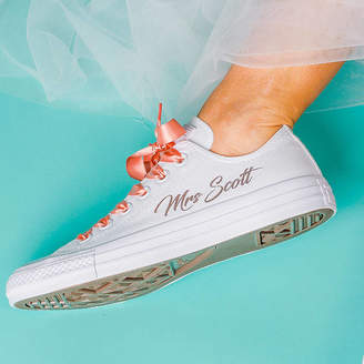 Yeah Boo Personalised Wedding Trainers
