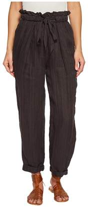 Free People Only Over You Linen Pants Women's Casual Pants