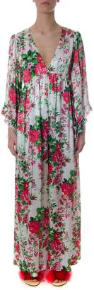 Leitmotiv Long Cut Floral Dress In Polyester