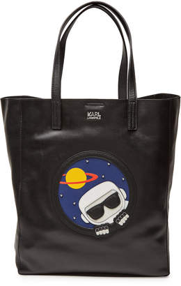 Karl Lagerfeld K/Space Leather Shopper