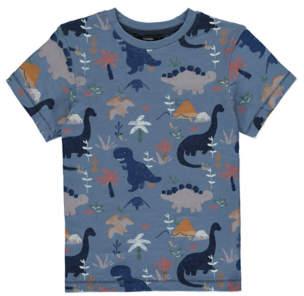 George Blue Dinosaur Print T-Shirt