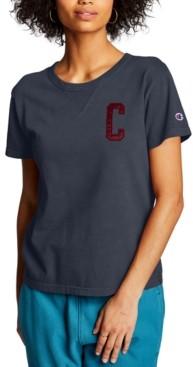 Champion Cotton Vintage Wash Logo T-Shirt
