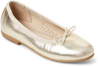 Old Soles Toddler Girls) Gold Brule Metallic Flats