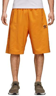 adidas Pinstripe Pintuck Shorts