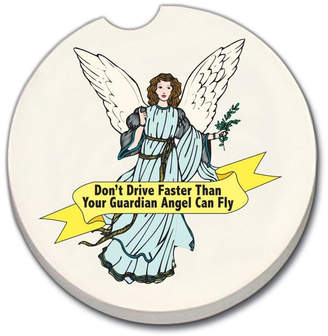 Diane's Accessories Car Coaster - Angel
