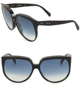 Celine 62MM Round Sunglasses