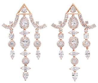 Fallon Pagoda Chandelier Earrings