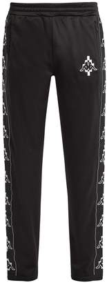 Marcelo Burlon County of Milan Kappa Tapes logo-jacquard track pants