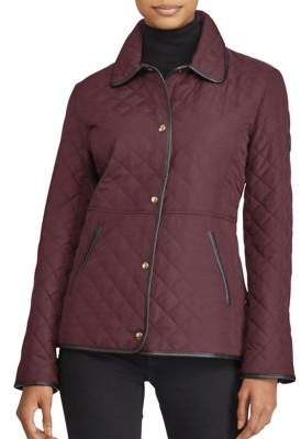 Lauren Ralph Lauren Quilted Button-Front Coat