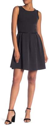 Max Studio Pin Dot Sleeveless Dress
