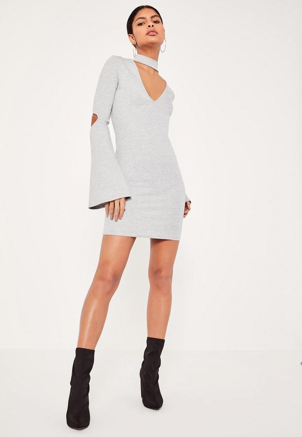 Easy Effortless Style - My 5 Favorite Choker Flare Dresses www.toyastales.blogspot.com