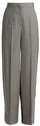 Stella McCartney Wide Leg Tailored Trousers - Womens - Grey