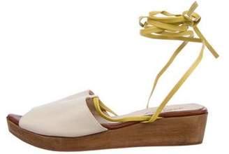 Rachel Comey Leather Wedge Sandals