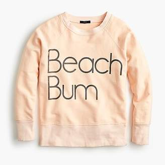 "J.Crew ""Beach bum"" sweatshirt"