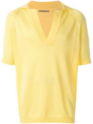 Nuur v-neck polo shirt
