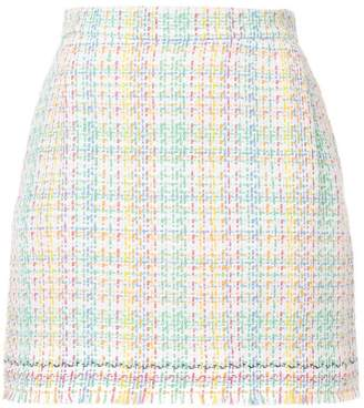 Thom Browne tweed checked skirt